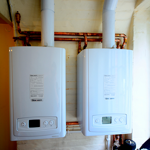 New boiler installation by The Heating Company
