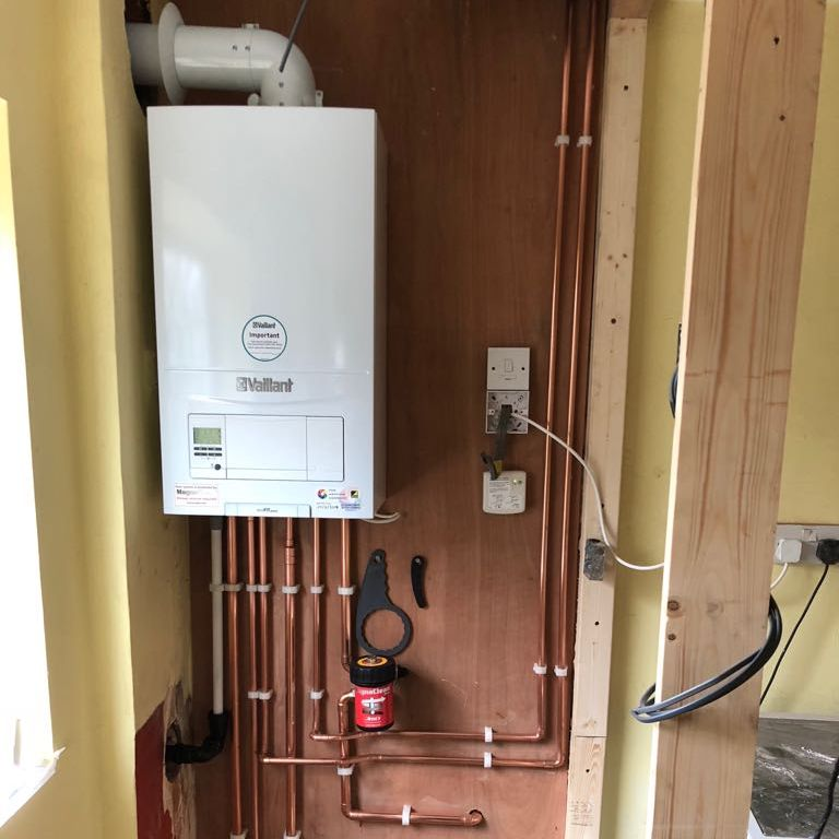 kitchen boiler installed by our gas engineer in Solihull